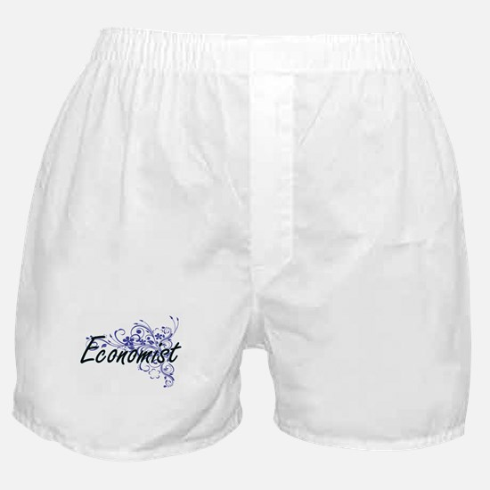 Economist Artistic Job Design with Fl Boxer Shorts