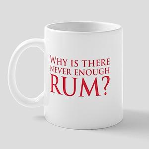 Never enough rum? Mug