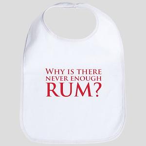 Never enough rum? Bib