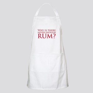 Never enough rum? BBQ Apron