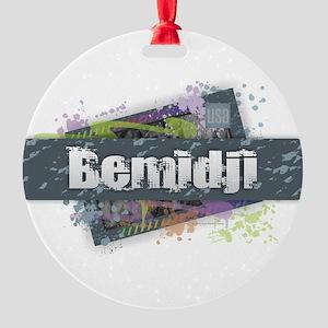 Bemidji Design Round Ornament