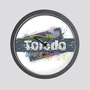 Toledo Design Wall Clock