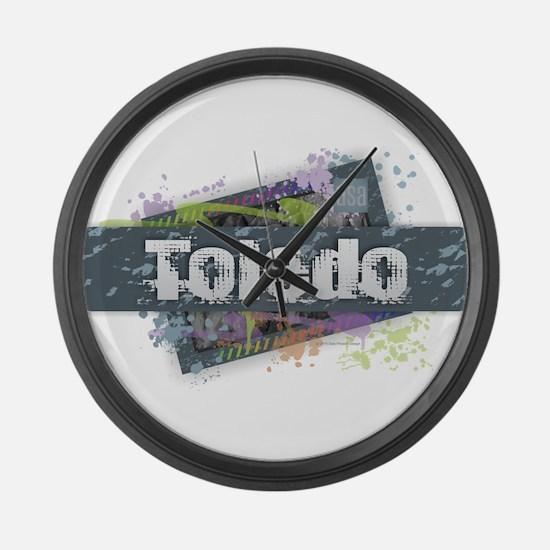Toledo Design Large Wall Clock