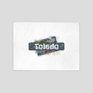 Toledo Design 5'x7'Area Rug
