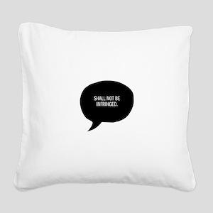 second amendment Square Canvas Pillow