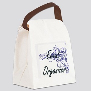 Event Organizer Artistic Job Desi Canvas Lunch Bag