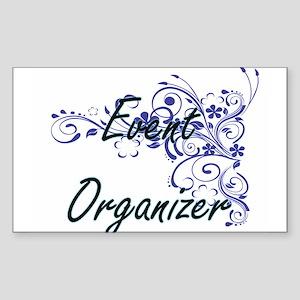 Event Organizer Artistic Job Design with F Sticker