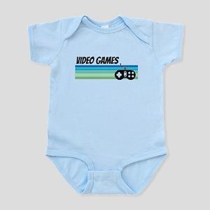 Retro 1970s Video Games Body Suit