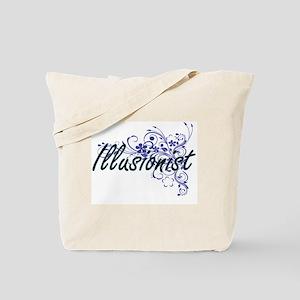 Illusionist Artistic Job Design with Flow Tote Bag
