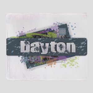 Dayton Design Throw Blanket