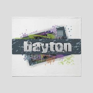 Dayton Design Throw Blanket