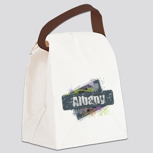Albany Design Canvas Lunch Bag