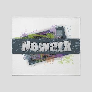Newark Design Throw Blanket