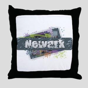 Newark Design Throw Pillow