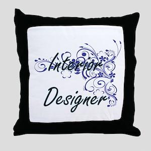 Interior Designer Artistic Job Design Throw Pillow