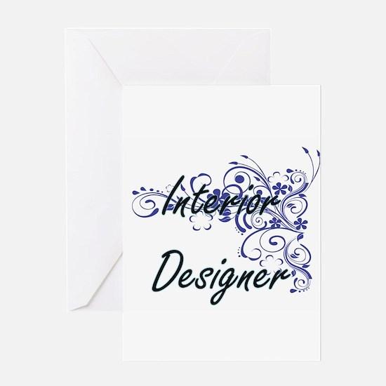 Interior Designer Artistic Job Desi Greeting Cards