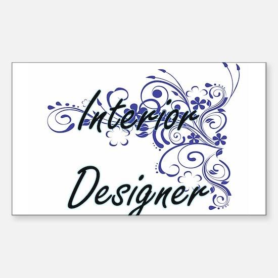 Interior Designer Artistic Job Design with Decal