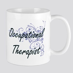 Occupational Therapist Artistic Job Design wi Mugs