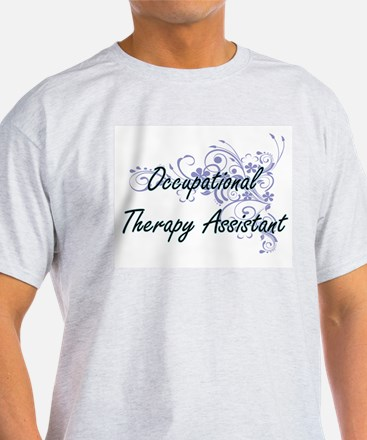 Occupational Therapy Assistant Artistic Jo T-Shirt