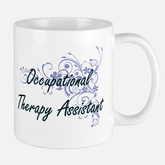 Occupational Therapy Assistant Artistic Job D Mugs