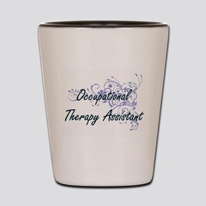 Occupational Therapy Assistant Artistic Shot Glass