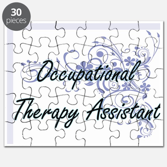Occupational Therapy Assistant Artistic Job Puzzle