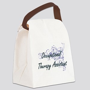 Occupational Therapy Assistant Ar Canvas Lunch Bag