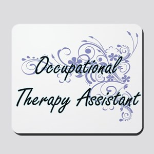 Occupational Therapy Assistant Artistic Mousepad