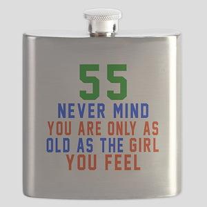 55 Never Mind Birthday Designs Flask