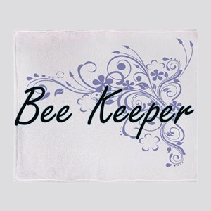 Bee Keeper Artistic Job Design with Throw Blanket
