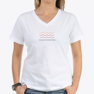 SongShirts: Red River Valley Women's V-Neck Tee
