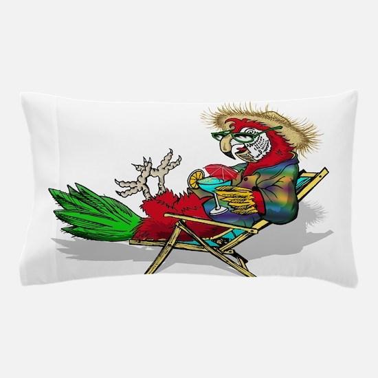 Parrot Beach Chair Pillow Case