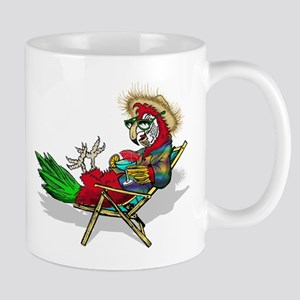 Parrot Beach Chair Mugs