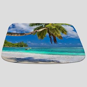 Tropical Beach Bathmat