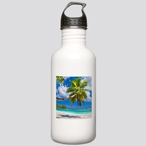 Tropical Beach Sports Water Bottle