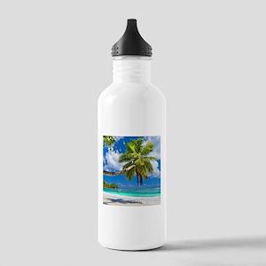 Tropical Beach Sports Water Bottle