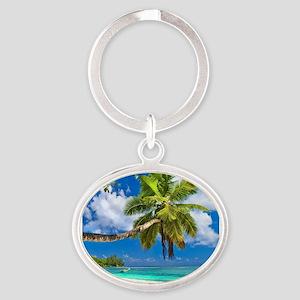Tropical Beach Keychains