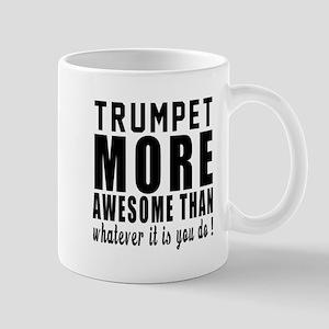 Trumpet More Awesome Instrument Mug