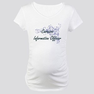 Careers Information Officer Arti Maternity T-Shirt