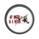 Witch! (Cute) Wall Clock