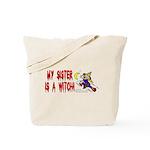 Witch! (Cute) Tote Bag