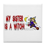 Witch! (Cute) Tile Coaster