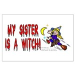 Witch! (Cute) Large Poster