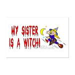 Witch! (Cute) Mini Poster Print