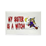 Witch! (Cute) Rectangle Magnet (10 pack)