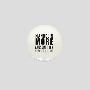 Mandolin More Awesome Instrument Mini Button