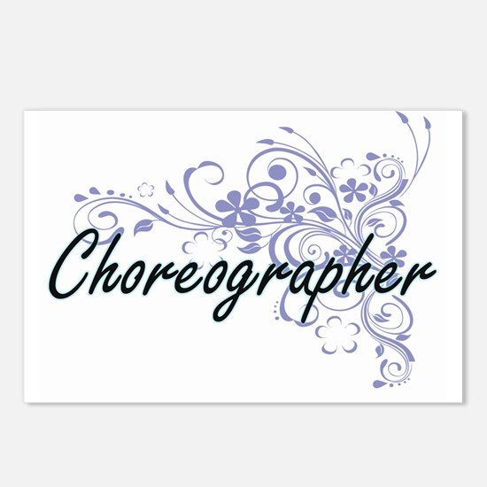 Choreographer Artistic Jo Postcards (Package of 8)