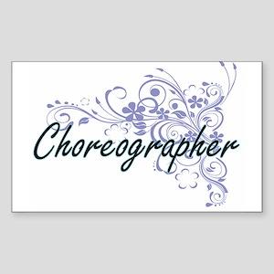 Choreographer Artistic Job Design with Flo Sticker