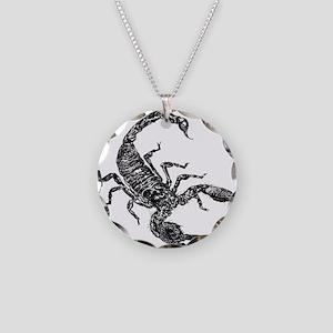 Black Scorpion Necklace