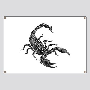 Black Scorpion Banner
